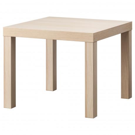 Придиванный столик ЛАКК под беленый дуб фото 0